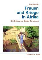 Frauen und Kriege in Afrika PDF