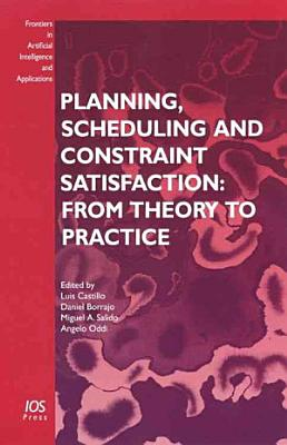 Planning  Scheduling and Constraint Satisfaction PDF