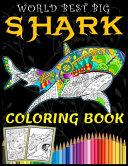 World Best Big Shark Coloring Book