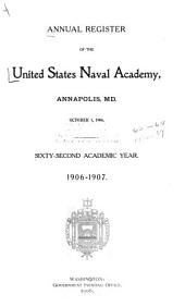 Annual Register of the U.S. Naval Academy