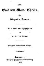 Der Graf von Monte Christo: Bände 15-18