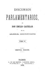 Discursos parlamentarios en la asamblea constituyente