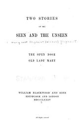 Two Stories of the Seen and the Unseen