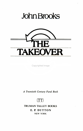 The Takeover Game PDF