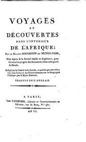 Voyages et découvertes dans l'intérieur de l'Afrique: Volume1