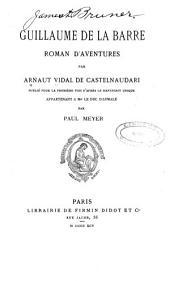 Guillaume de la Barre; roman d'aventures: Numéro34