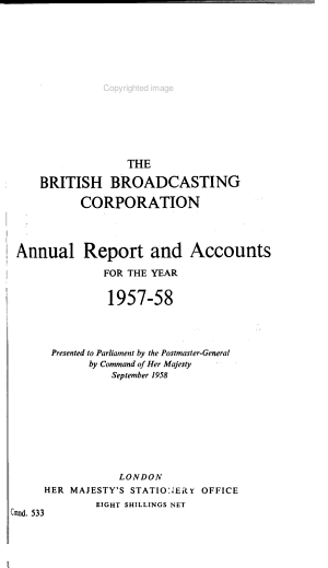 Annual Report and Accounts for the Year ...