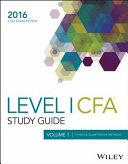 Wiley Study Guide for 2016 Level i Cfa Exam