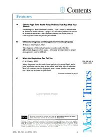Medical Times PDF