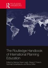 The Routledge Handbook of International Planning Education PDF