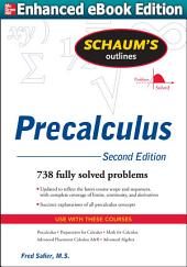 Schaums Outline of Precalculus 2/E (ENHANCED EBOOK): Edition 2