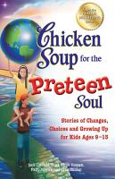 Chicken Soup for the Preteen Soul PDF