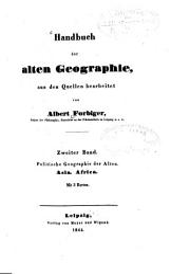 Handbuch der alten Geographie PDF