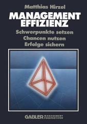 Management Effizienz: Schwerpunkte setzen Chancen nutzen Erfolge sichern, Ausgabe 4