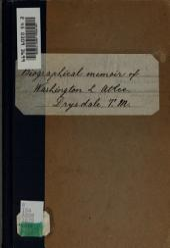 Biographical memoir of Washington Lemuel Atlee, M.D.