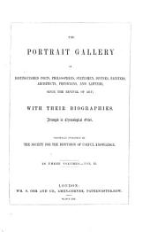 The portrait gallery of distinguished poets, philosophers, statesmen, divines, painters, architects, physicians, and lawyers, since the revival of art: with their biographies, Volume 2