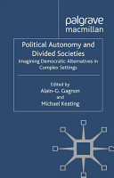 Political Autonomy and Divided Societies PDF