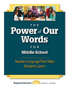 The Power of Our Words for Middle School PDF