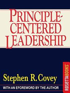 Principle Centered Leadership Book