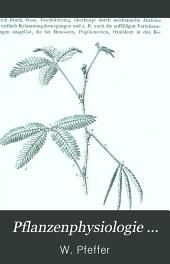 Pflanzenphysiologie ...