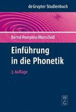 Einf  hrung in die Phonetik PDF