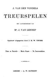 J. van den Vondels Treurspelen: Volume 5