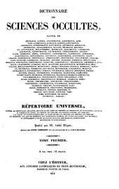 Encyclopédie théologique: ou Série de dictionnaires sur toutes les parties de la science religieuse, Volume48
