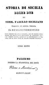 Storia di Sicilia, Deche due: Volume 6