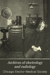 Archives of Electrology and Radiology: Volume 3