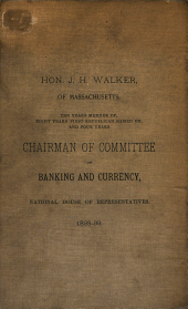 Reform of Treasury, Banking and Currency
