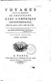 Voyages dans l'Amérique septentrionale dans les années1780, 1781 et 1782