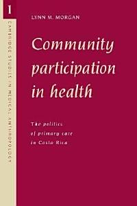 Community Participation in Health PDF