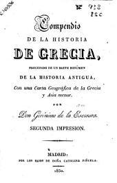 Compendio de la historia de Grecia: precedido de un breve resúmen de la historia antigua, con una carta geográfica de la Grecia y Asia Menor