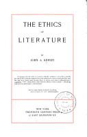 Ethics of Literature PDF