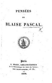 Éloge by Condorcet et pensées de Pascal. Nouvelle édition, commentée, corrigée & augmentée en III parties. Par Mr. de *** i.e. F. M. A. de Voltaire