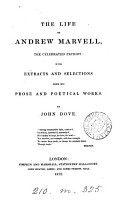 The Life of Andrew Marvell  the Celebrated Patriot PDF