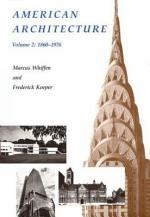 American Architecture: 1860-1976