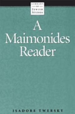 A Maimonides Reader PDF