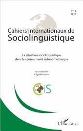 La situation sociolinguistique dans la communauté autonome basque