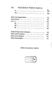 De Institutione oratoria: Volume 3