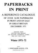 Paperbacks in Print PDF