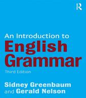 An Introduction to English Grammar: Edition 3