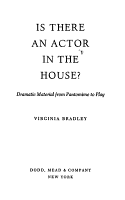 Is There an Actor in the House  PDF