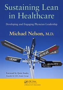 Sustaining Lean in Healthcare Book