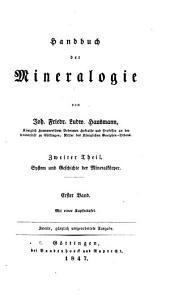 Handbuch der Mineralogie: Band 2