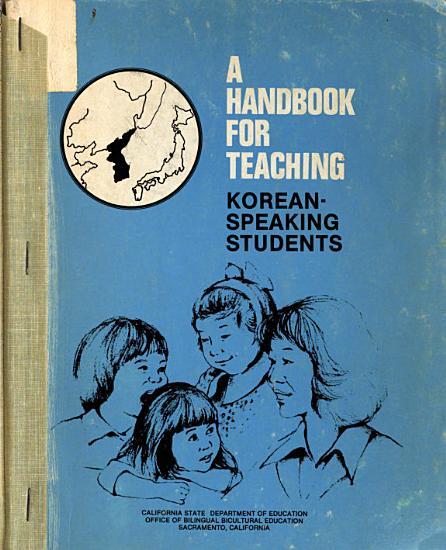 A Handbook for Teaching Korean speaking Students PDF