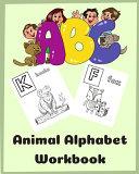 ABC Animal Alphabet Workbook PDF