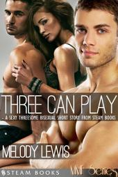 Three Can Play - A Sexy Bisexual Threesome Short Story from Steam Books