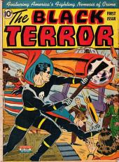 The Black Terror Comic Book No 1
