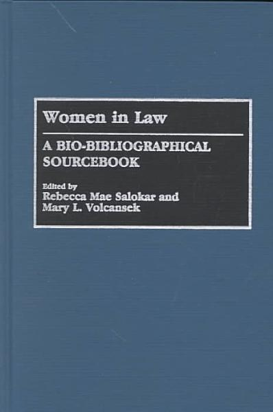 Download Women in Law Book